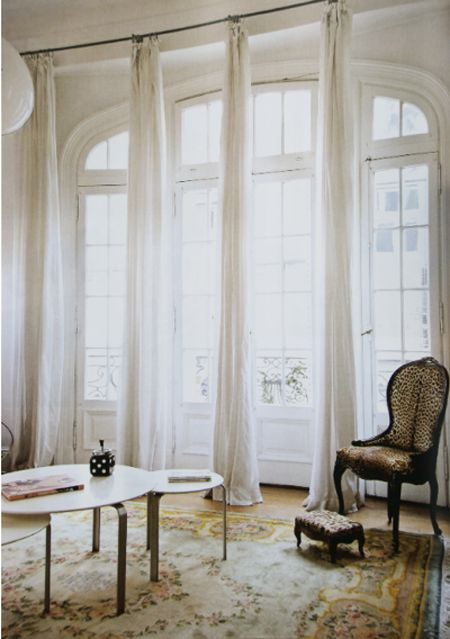 Love Floor Length Window Sheers On A Track Frenchdoors