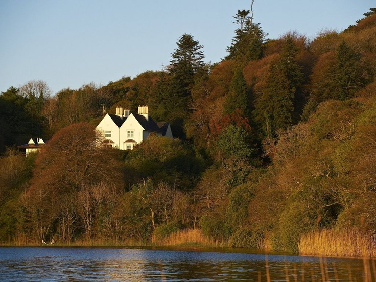 Lake lodge at the liss ard estate in Ireland