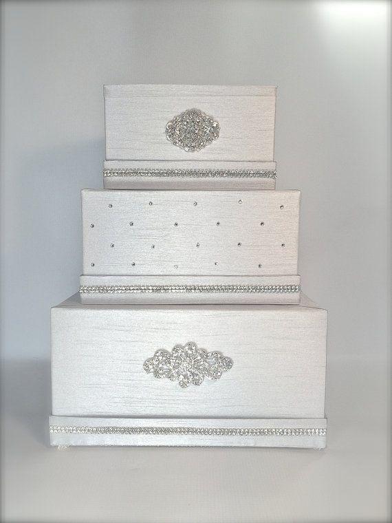 72 best Wedding Cake Card Box images on Pinterest | Wedding cards ...