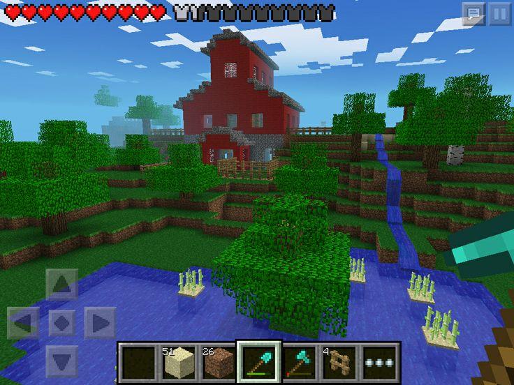 (W2) farm/barn in Minecraft PE | minecraft | Pinterest ...
