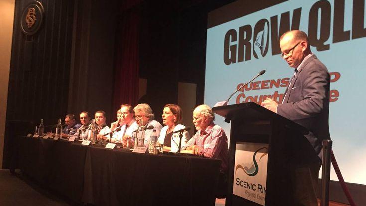 Beaudesert forum helps Grow Qld  Full story: