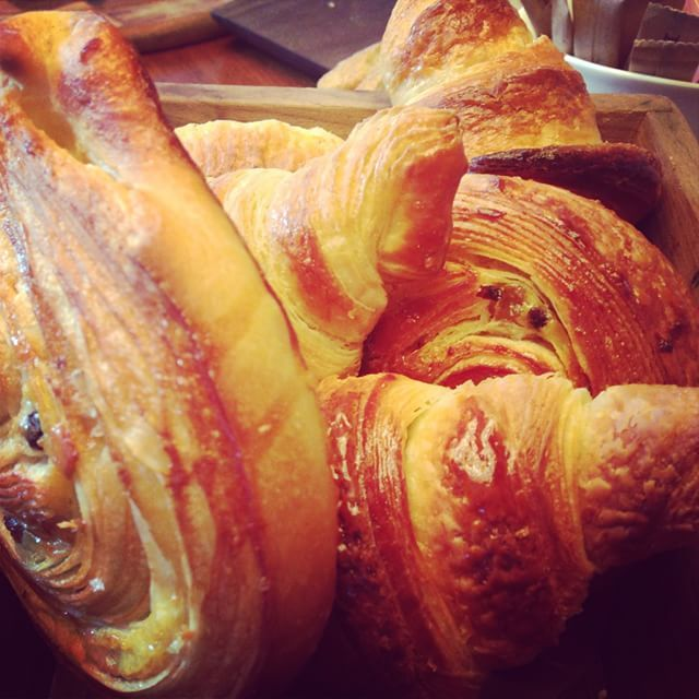 Start your week off right with some crispy croissants.  Only at New taste! #croissants #breakfast #Yeshotels Photo by @kik_block