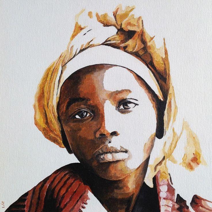 African american facial drawing program #7