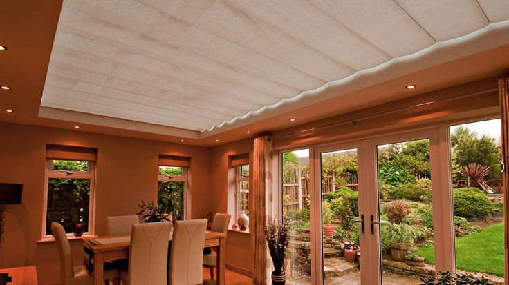 Orangery Roof Blinds Systems