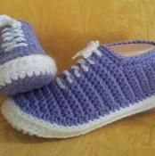Vans Slippers pattern - via @Craftsy