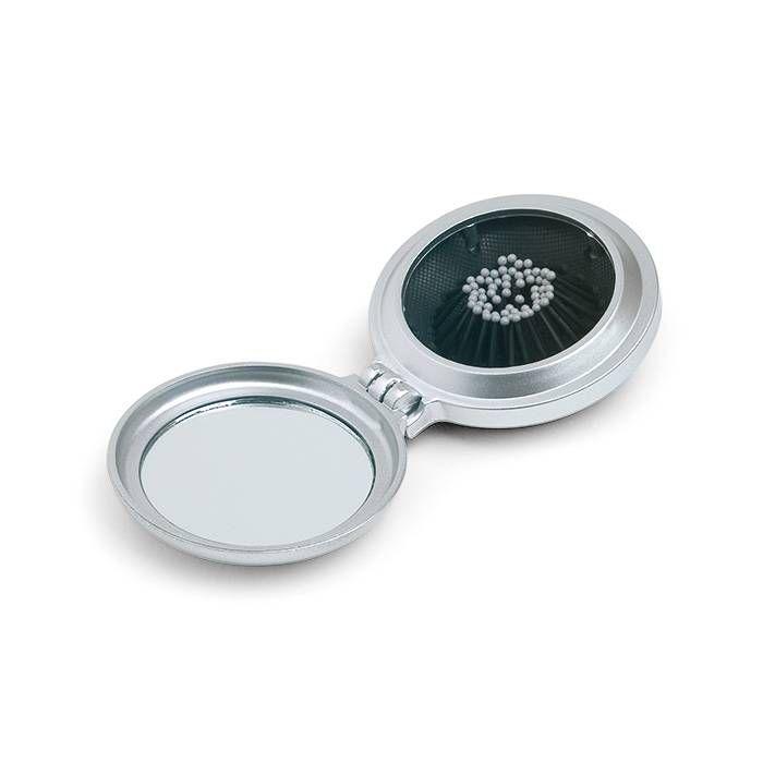 Zakspiegeltjes bedrukken - Opvouwbare borstel met spiegel KC2683 - DéBlé Relatiegeschenken