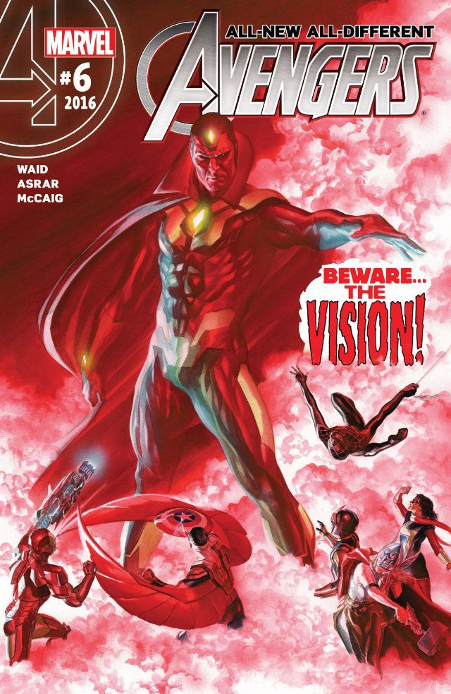All-New, All-Different Avengers #06 cover •Alex Ross Vision