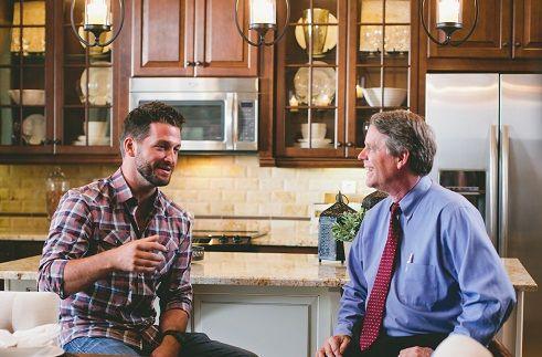 The Host Of New Home Source Tv Brett Tutor On The Left