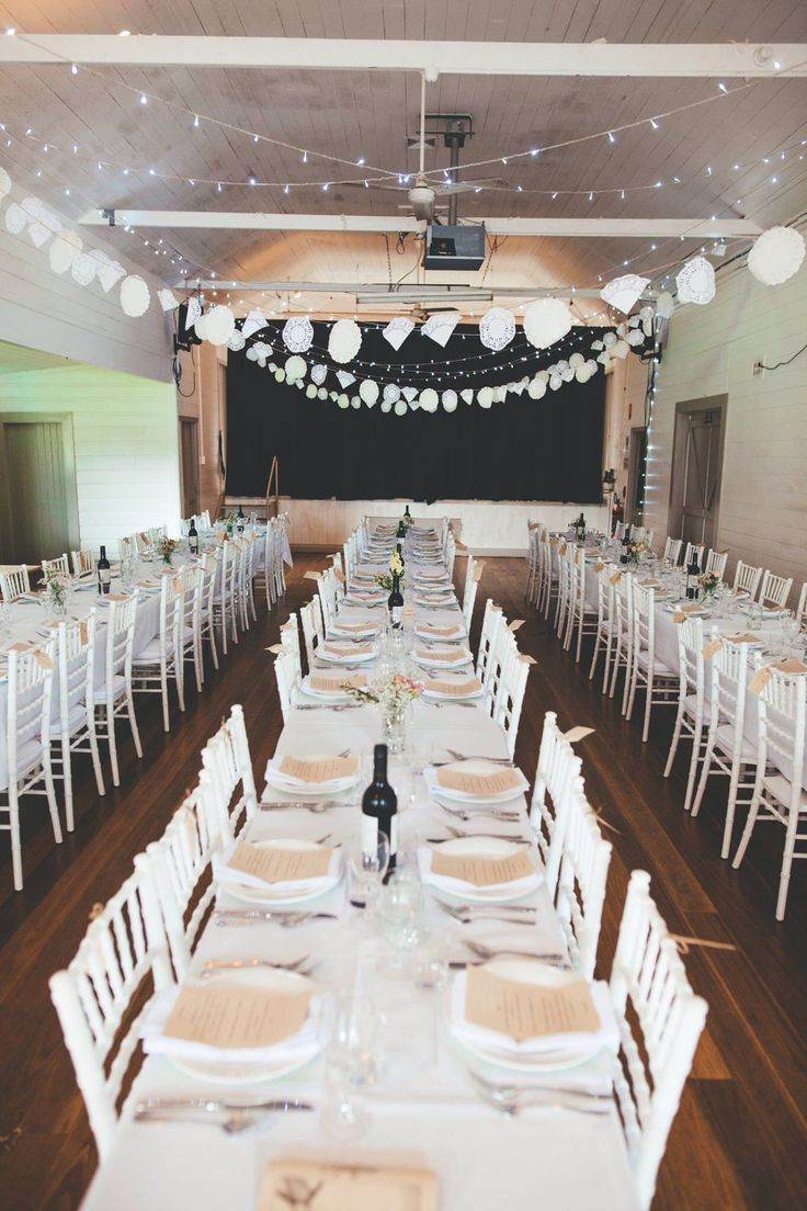 Country Hall Wedding Photo by Hello Sweetheart