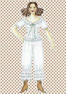 Påklædningsdukken Louisa