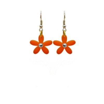 Bejewelled Daisy Earrings