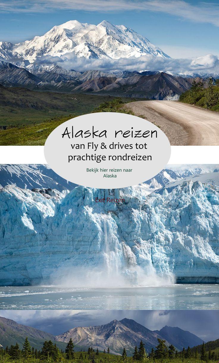 Alaska is verreweg de grootste staat van Amerika en beschikt over vele kilometers kustlijn, gletsjers, rivieren en acht grote Nationale Parken, waaronder Denali National Park, Wrangell St. Elias National Park en het Glacier Bay National Park. #alaska #reizen #vakantie #zomer #travel #traveling #wanderlust #rondreizen #usa