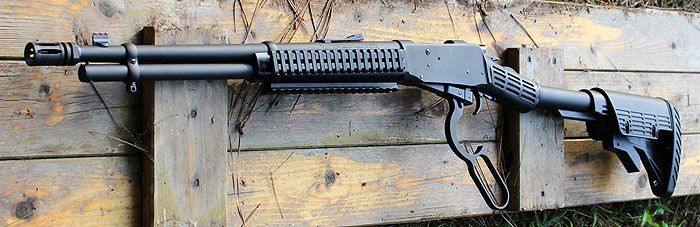 The Mossberg 464 SPX Tactical Lever Action