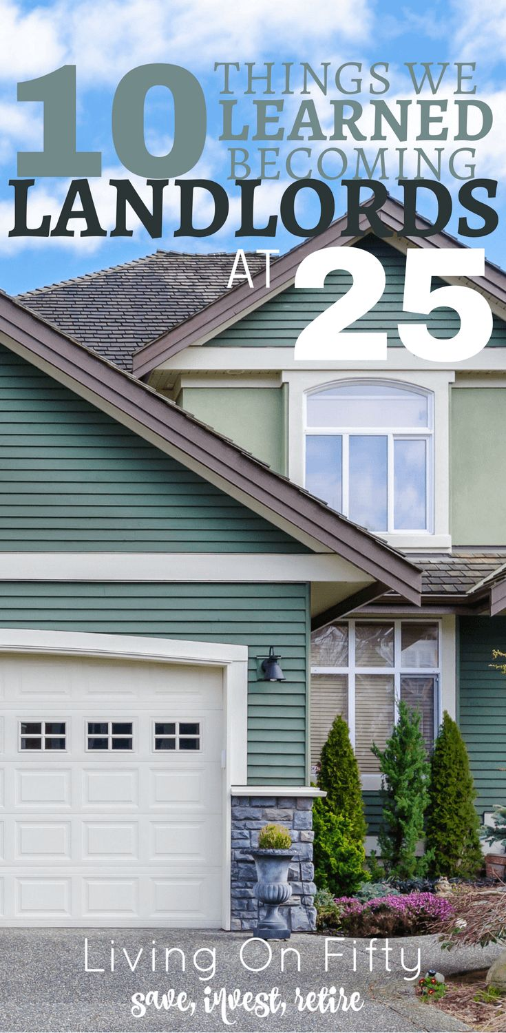 Learn from our mistakes: here are 10 things we learned becoming landlords at 25.  How to become a landlord without making our mistakes!