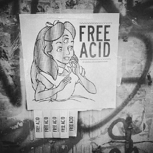 acid, grunge, and alice image