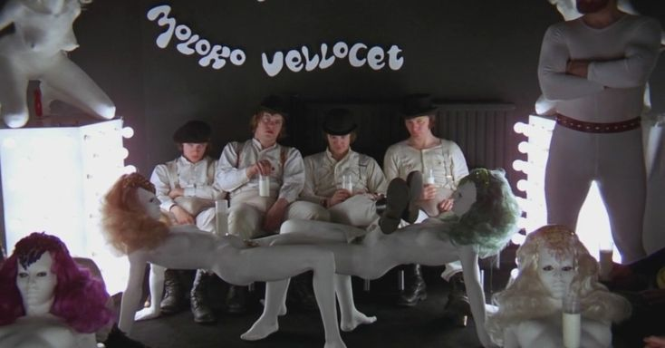 A Clockwork Orange - 1971 (Cinematographer: John Alcott)