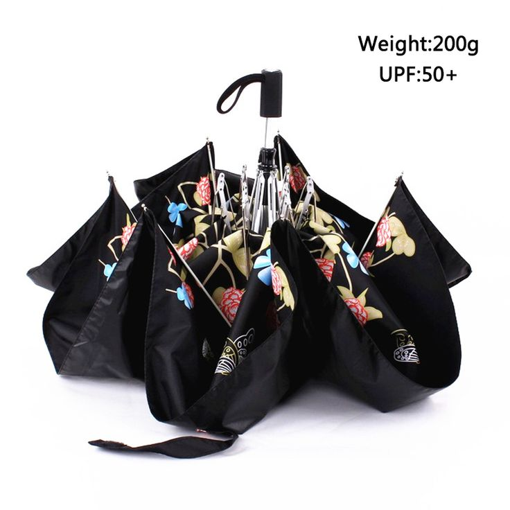 Windproof rain chinese cheap Umbrella women small pocket umbrellas parasol mini sun shade umbrella men #Affiliate
