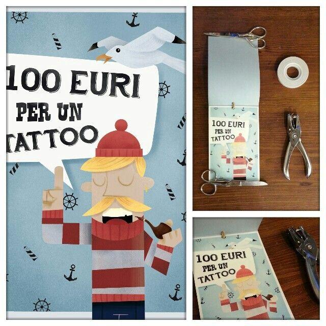 Illustration, gift card