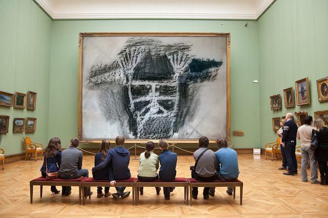 angeloarte: The shaman in exposure. (Tretyakov gallery) Lo sci...