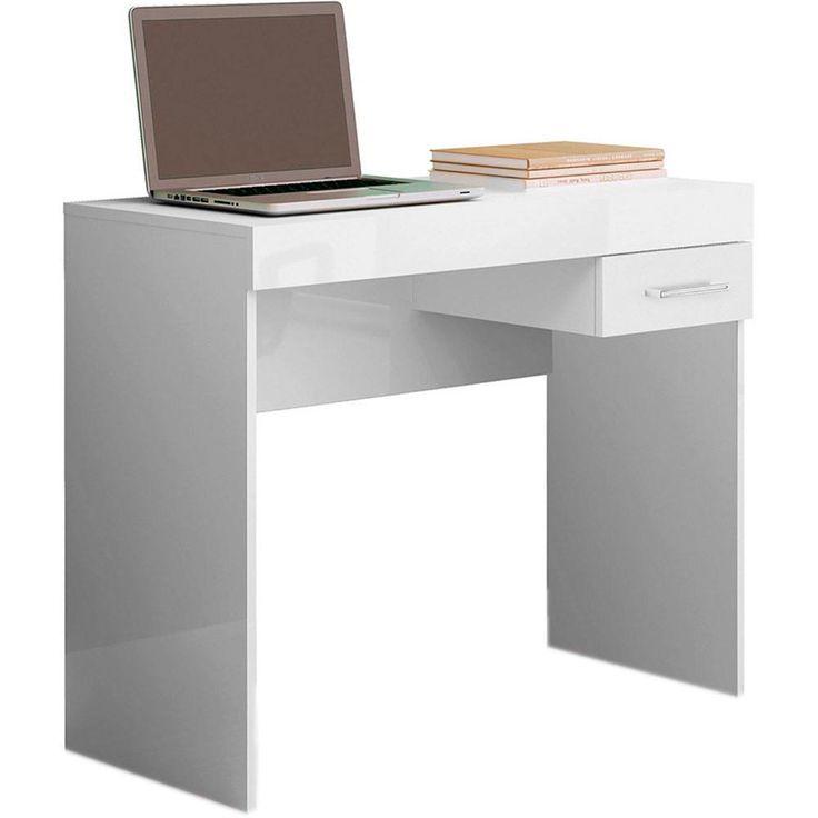 Mesa para Notebook Cooler 1 Gaveta Branc... - Submarino.com