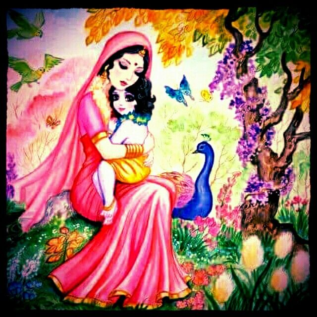 Maiya Yashoda and her pyare Kanhaiya.. #JaiShreeKrishna #kanha #Kanhaiya #heart #love #spreadlove #happiness #beautiful #beautyoflife #Hindu #mother #son #momsy #maa #ma #Hinduism #spiritual #loveisallweneed #unity #peace #understanding #respect #mandir #temple #stunning #hearthis #lovethis #lovelovelove #beautiful