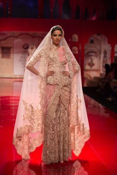 Click to see the full collection. Indian wedding clothes Suneet Varma 2014.  Desi bridal outfits #shaadibazaar