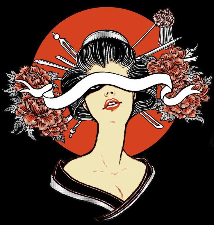 Yuko Shimizu - Yuko x GoodSon T shirts project -