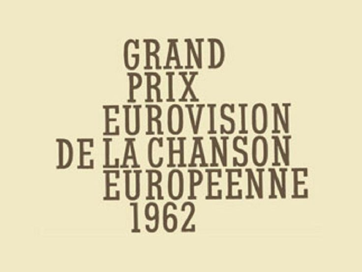 Eurovision Song Contest 1962 - full show