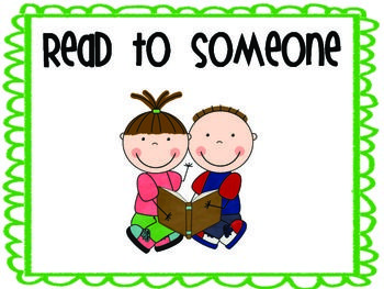 These are posters to be used with the Daily Five. The posters included are Read to Someone, Read to Self, Word Work, Work on Writing, and Listen to Reading. These can be displayed on a bulletin board, or can be used for Check-In. I will use these on a bulletin board and clip the children's pins on the posters at each check in to show which station they have chosen.
