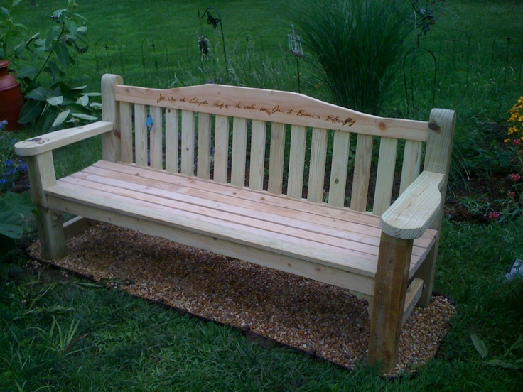 15 Best Park Bench For Memorial Images On Pinterest Benches Park Benches And Cemetery