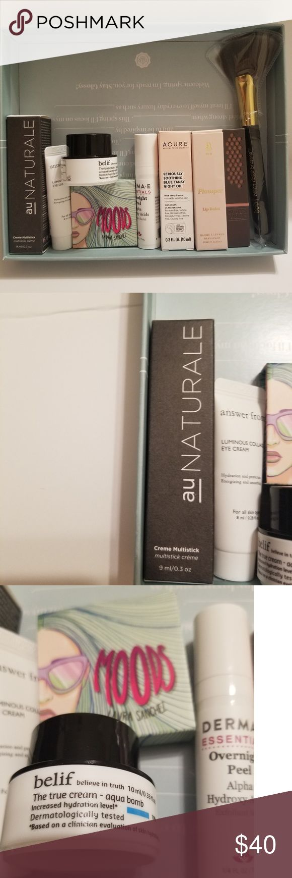 Beauty bundle Au Naturale Anywhere Creme Multistick for