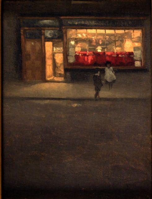 A little shop in Chelsea 1884-87, Mortimer Menpes