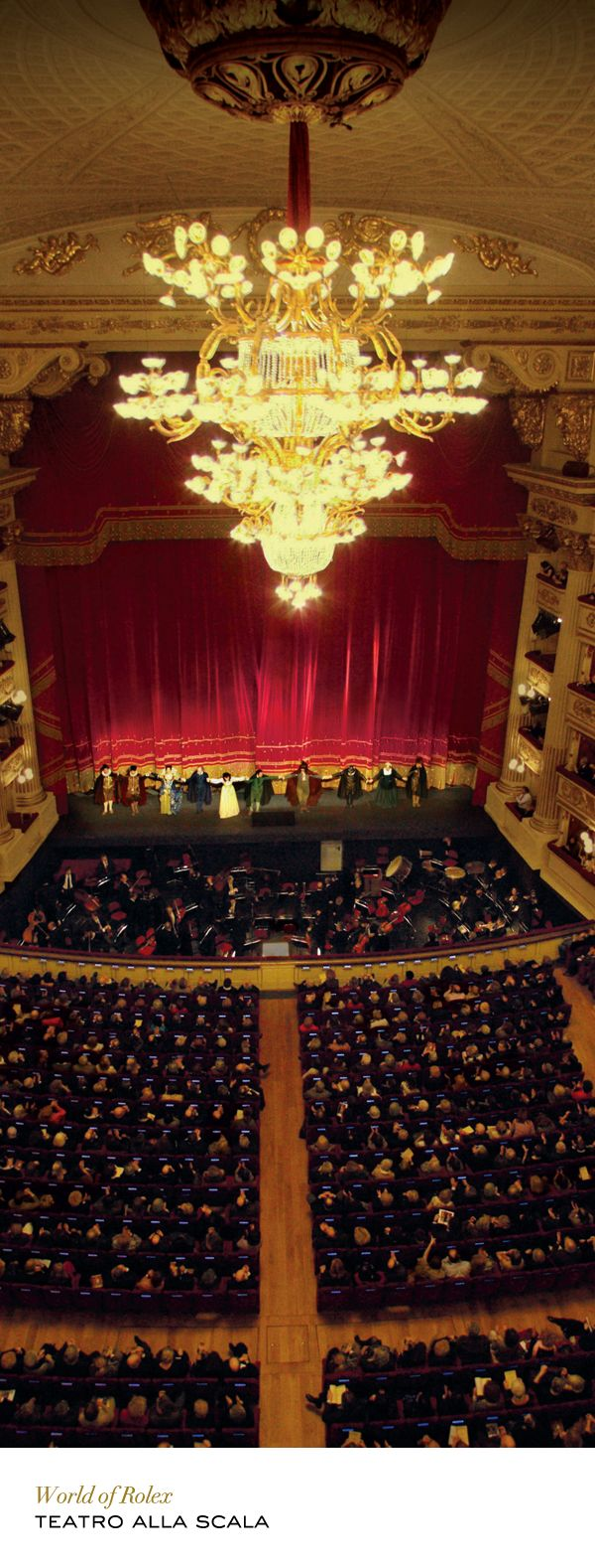 Exclusive partner of Rolex since 2006, Milan's Teatro alla Scala has been the reference in the opera world for over two centuries. #RolexOfficial