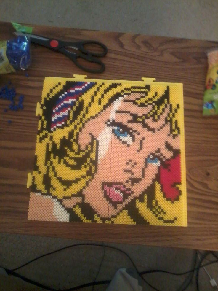 1000 images about cuadros hama beads on pinterest - Hama beads cuadros ...