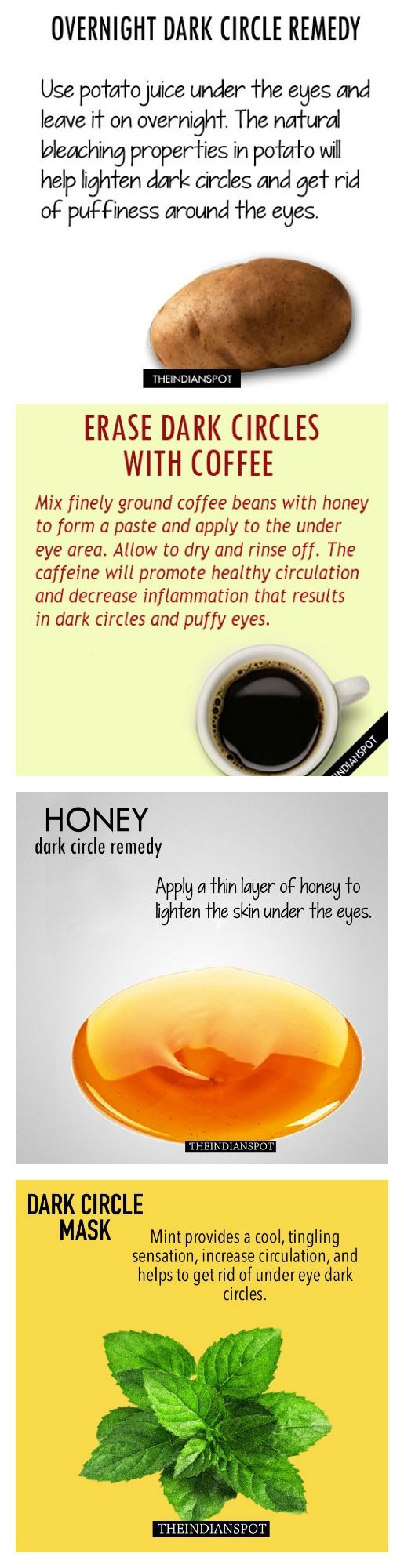 TOP 10 NATURAL CURES FOR DARK CIRCLES