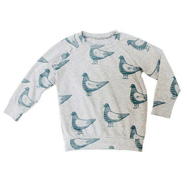"Sweatshirt Grecha ""pigeon"" for kids. Grecha kids."