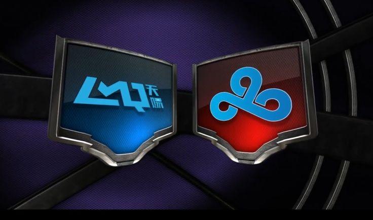 LMQ vs CLOUD 9 W2D2 G1 NA LCS Summer Split S4 2014 LMQ vs C9 Week2 Day2