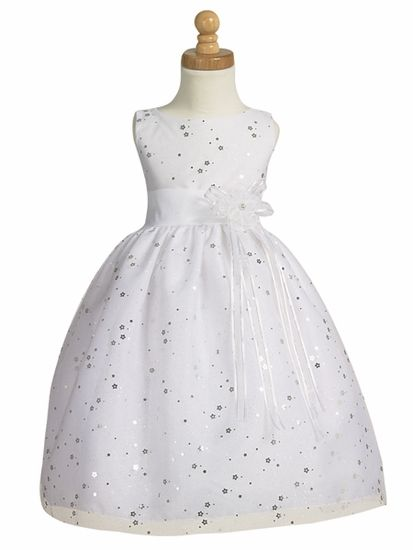 White Sparkling Tulle Dress 29,99$
