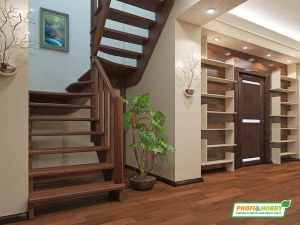 Wooden Stairs Treads, Designs And Tips For Installation