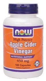 Apple Cider Vinegar by Now Foods - Buy Apple Cider Vinegar (450 MG) 180 Capsules at the Vitamin Shoppe#VitaminShoppe #GreenForGreen