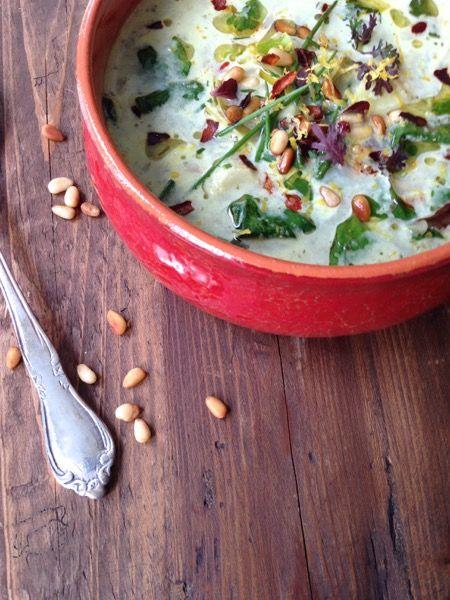 Spinach and Artichoke Soup Recipe - Ciao Florentina