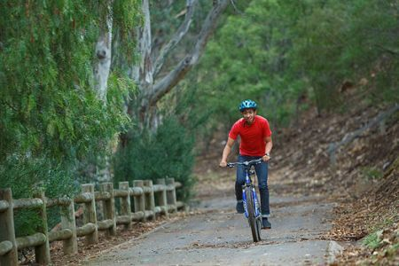 Parks Victoria - Cycling and walking - great short distance, but wide cycling track for kids at Brimbank Parkland