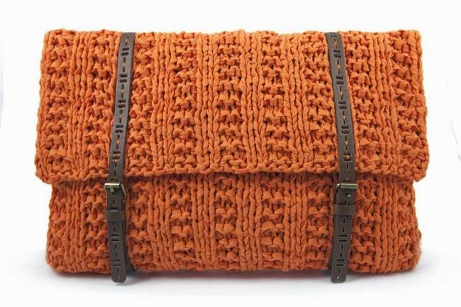 Nuevo Ribbon XL de Hoooked y tutorial bolso tricot