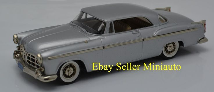 1 of 1 Produced Brooklin 1955 Chrysler C300 1:43 in Silver - You Must See #Brooklin