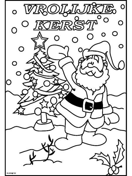 kleuren christmas card