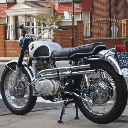 1966-Honda-CL77-300-Scrambler-305-CB72-CB77-CB92-Classic-Vintage-Rare-Very-Nice