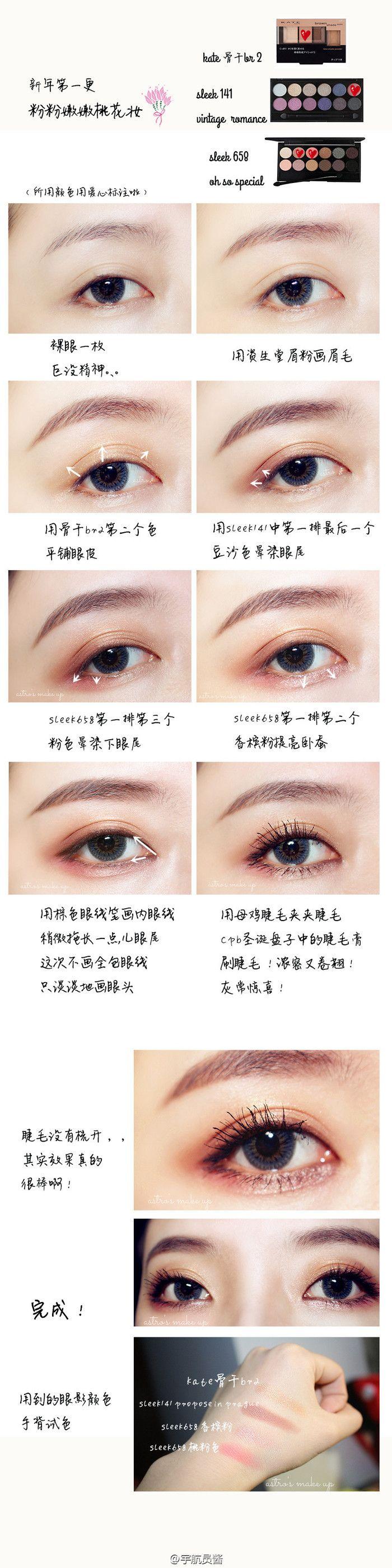 Lovely eye make up