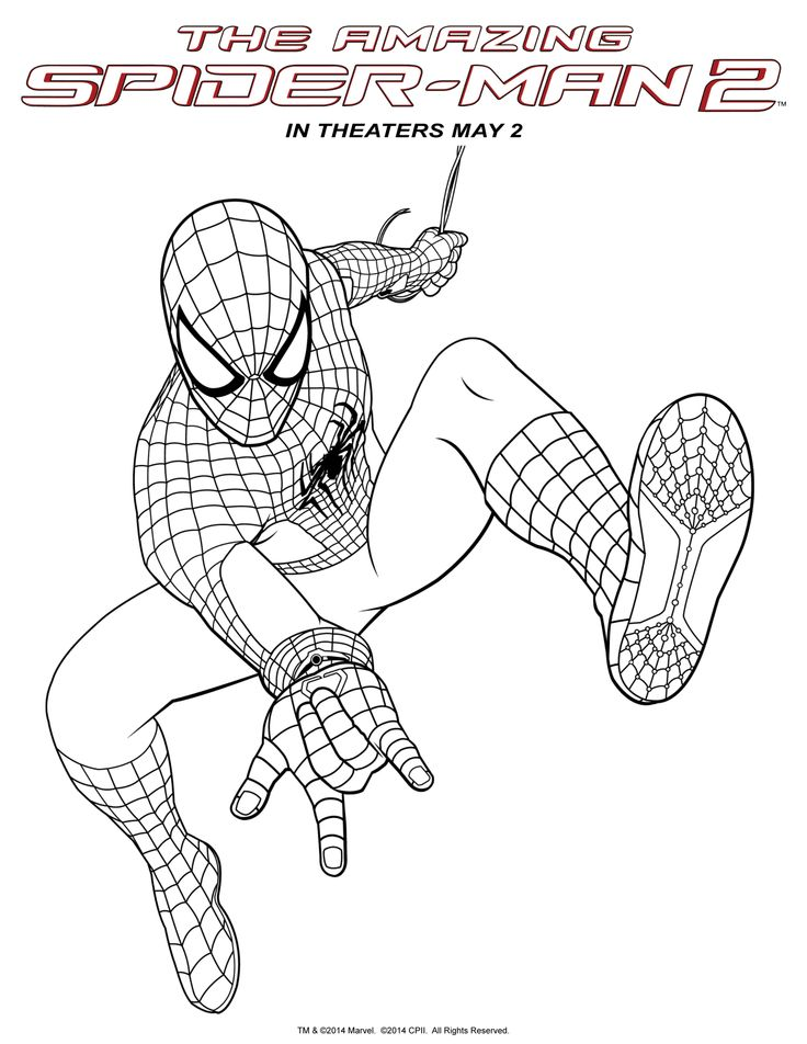 Spider man 2 the magic of movies at home pinterest for Disegni da colorare spiderman 3