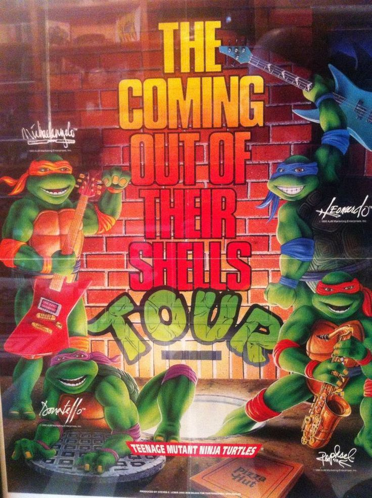 Ninja Turtles Tour
