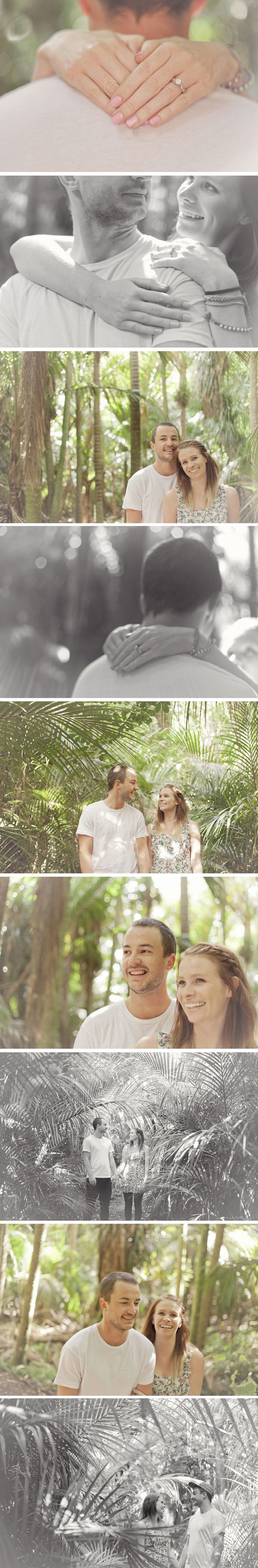 Palm tree heaven - Engagement photography Wellington - Jenny siaosi photography